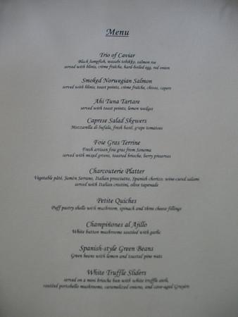 Wine/Gourmet Dinner