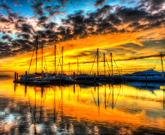 Port Canaveral Sunrise