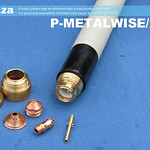 SKU: P-METALWISE/2/3M, MetalWise Mach-Three 2nd Generation 130A Plasma Air-Cooling Mechanized Torch Body