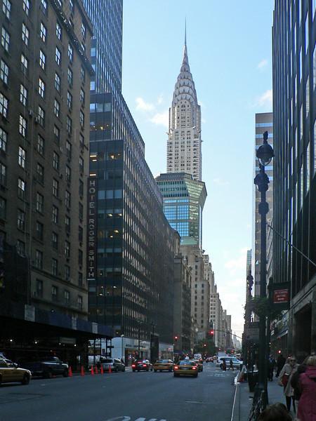 Den vackra Chrysler Building, 319 m