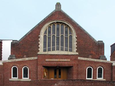 Methodist Church, Lime Walk, Highfield, Headington, Oxford, OX3 7AB