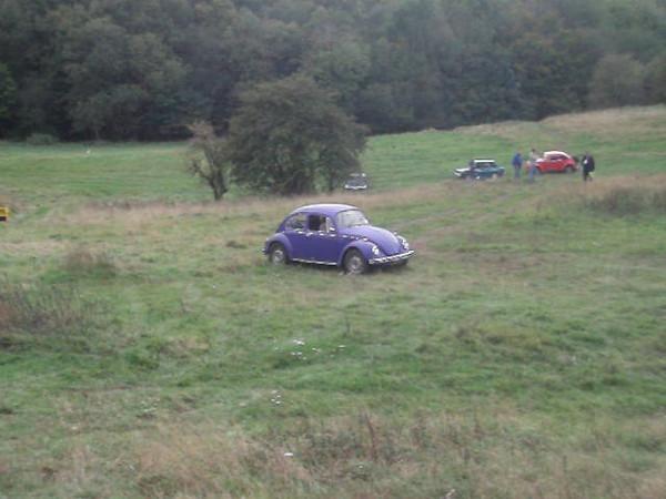 Class 6 No. 17 & 18, Melanie Hobbs & Mike Ellis - VW Beetle