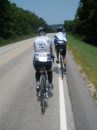 2018-08-11 LaCrosse Ride to Cure Diabetes - On the Road