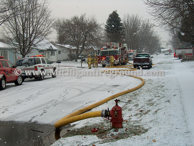 12/3/06 - Delhi Twp house fire, 1583 Grayfriars