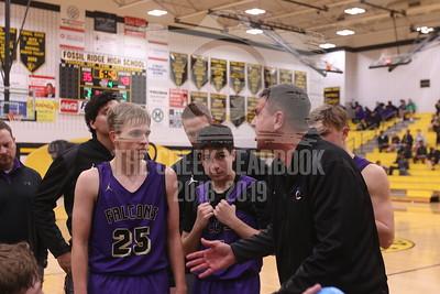 January 6, 2019 Basketball vs Ridge