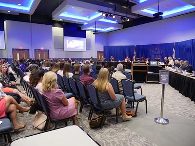 September 25, 2018 Regular MISD School Board Meeting