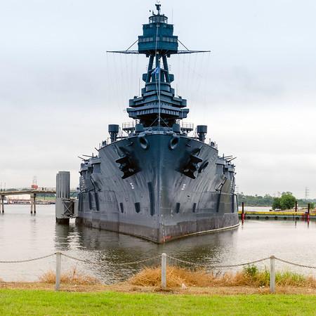 Battleship USS Texas