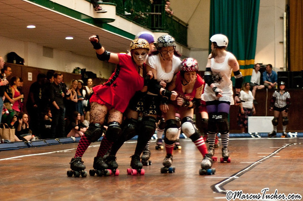 May 2010 - London Roller Derby - Malice in Derbyland