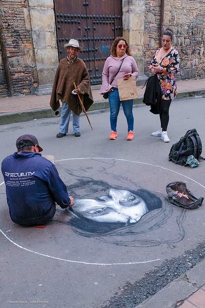 Street Art, Jesus in the Making