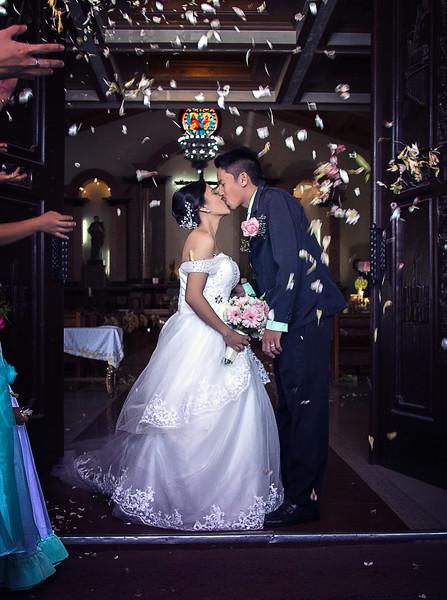 Adrian and Mezl Wedding Day