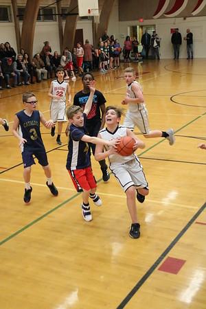 MS 6th Boys Basketball vs. Cataldo 2-25-20