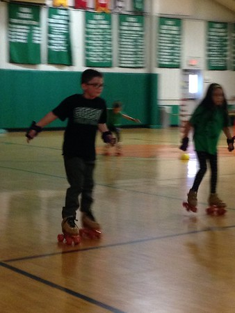 1st Grade RollerSkating