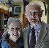 Phil West and Anne Grant, long-time advocates for those who are poor and powerless, drove from Providence, Rhode Island.