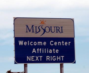 DAY 8 - JULY 8 - Kingdom City, Missouri to Sioux City, Iowa