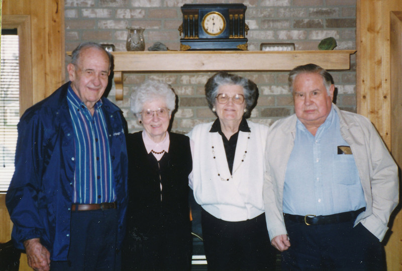 Ellis & Eileen Sullivan, Jean & Scotty Fisher 1999.jpg