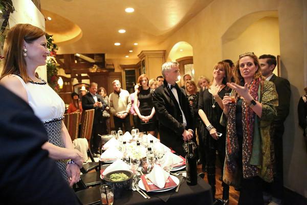 Ski Casa Nova with Geena Davis and By Invitation Only SLC, UT - Dinner