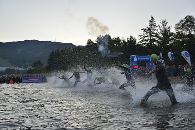 Race Start - Swimming