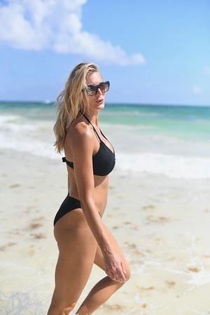 Bikinis on the beach