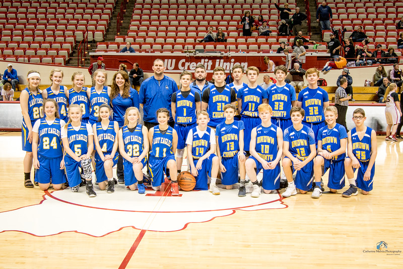 2018 Hawks in the Hall Brown County Eagles Basketball Teams_.jpg