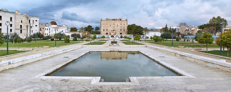 Castello della Zisa, Palerme, Sicile, Italie
