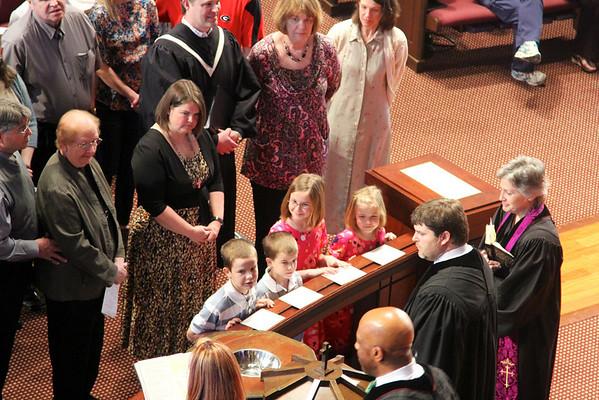 Evans Family Baptism