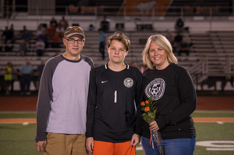 WBL Boys Soccer  Parents night photos