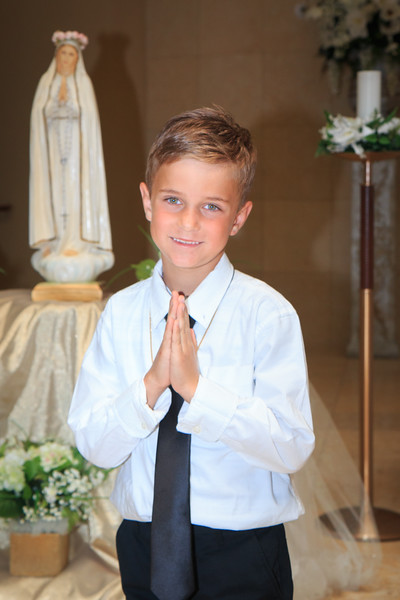 Charlie's 1st Communion