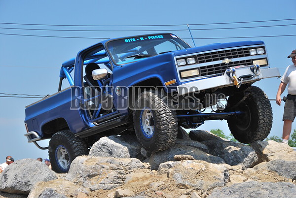 """Rock Crawling Demonstration"" @ All Ford Nationals - June 7, 2008 - Nikon D60 - Kara Karycki"