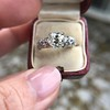 1.71ct Old Mine Cut Diamond Solitaire GIA K SI2 10