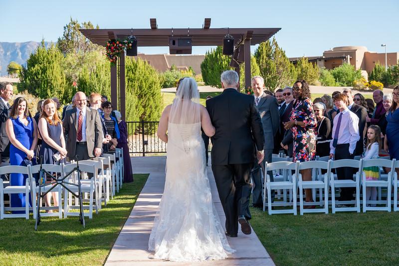 Sandia Hotel Casino New Mexico October Wedding Ceremony C&C-67.jpg