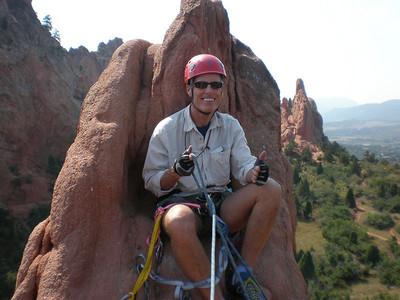 N Ridge of Montezuma's Tower - 9/1/09