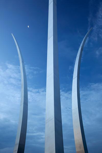Air Force Memorial in Arlington, VA