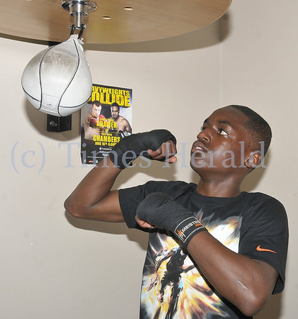 13-year-old Boxer Andre Mack