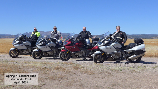 Spring 2014 4-Corners Ride