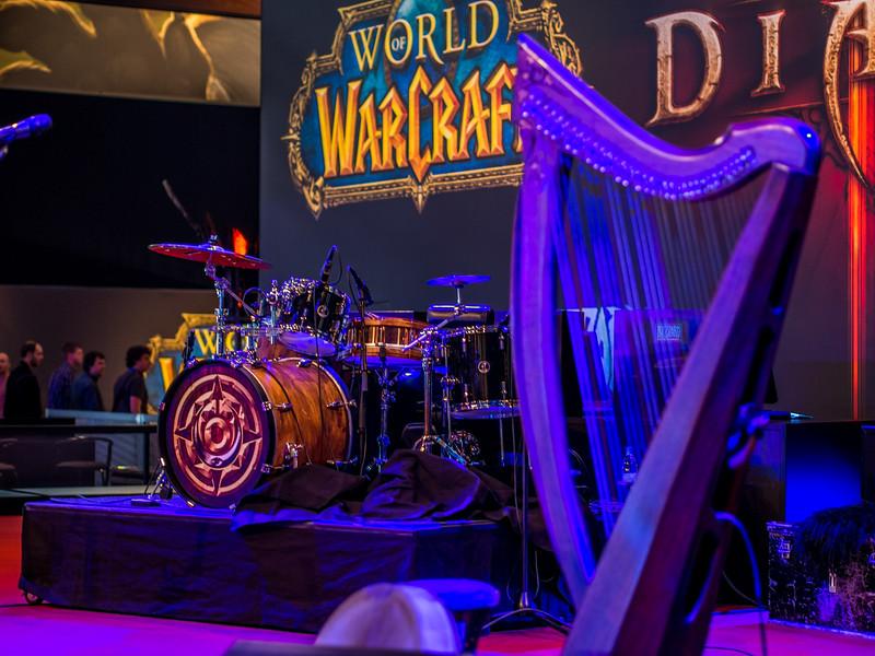 World of Warcraft concert stage at Gamescom 2013