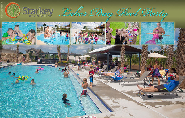 2016 Starkey Ranch Labor Day Pool Party