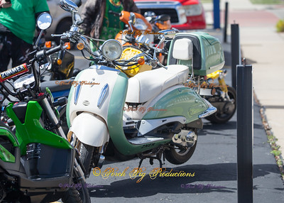 2016 St. Patricks Day Parade Scooters