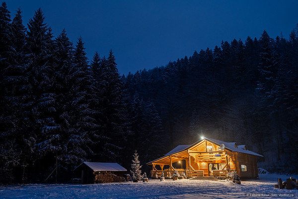 Cabana Raisa - iarna