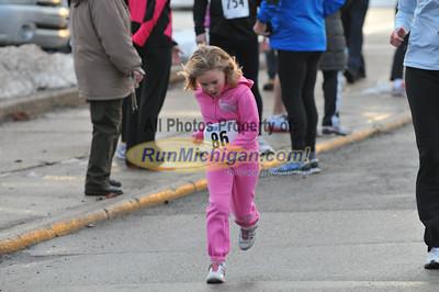 One Mile Finish - 2013 POHO Hot Cocoa Run