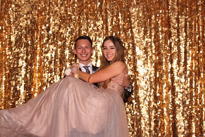 Oak Ridge Prom 2019 - Gold Sparkle