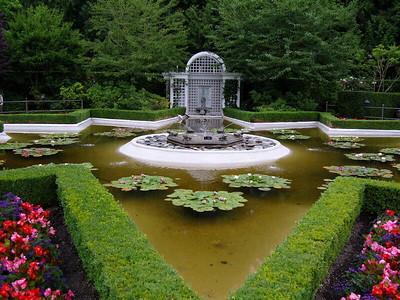 Buchart Gardens Victoria British Columbia Capital Canada