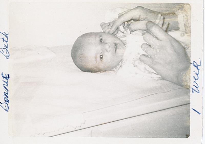 1970-02 Bonnie Ricca 1 week old (2).jpg