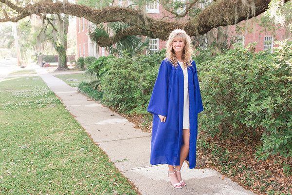 Brooke Briley Cap & Gown