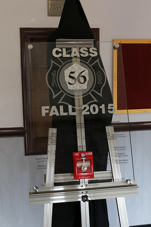 Connecticut Fire Academy Recruit Class #56 graduation 12/11/15