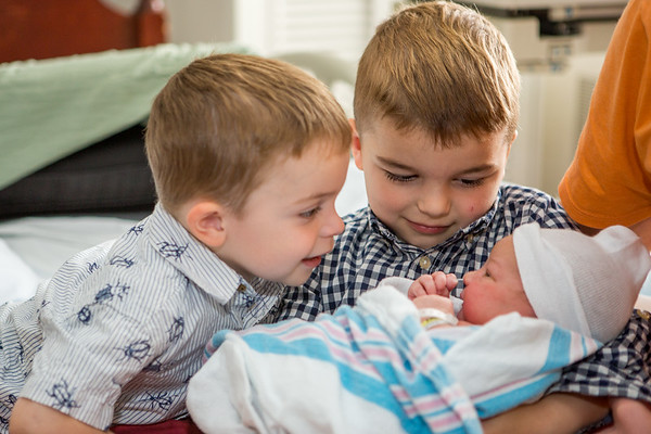 Cameron, Miles and Riley Kirchner
