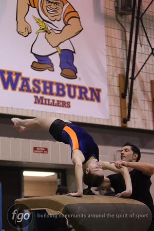 Southwest v Washburn Gymnastics 1-5-11
