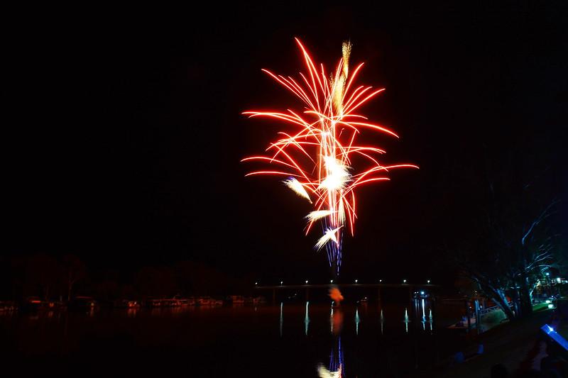 2018 Berri Xmas Fireworks