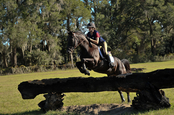 Schooling at Kyle Carter's Five Ring Farm, Nov. 2009
