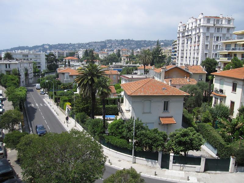 Street scene in Nice, France