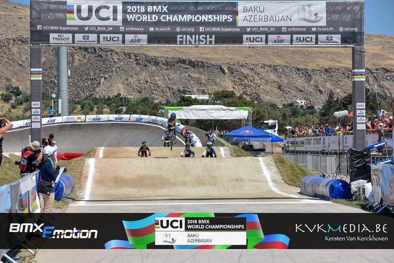 UCI BMX WC BAKU - Chalenge -12y  - Finals + Podium